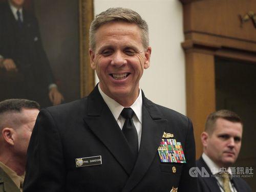 米インド太平洋軍のデービッドソン司令官=2018年3月、ワシントン