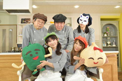 日本の音楽ユニット「給食当番」=サワグチカズヒコさん提供