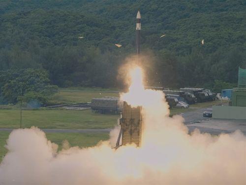 地対空ミサイル「天弓3型」=国防部提供