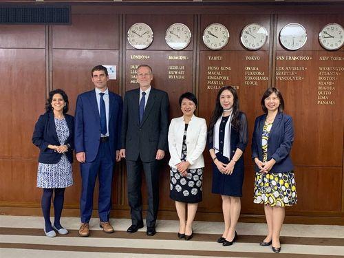 台米、台湾の国際参加拡大に向けた策略を協議=外交部提供