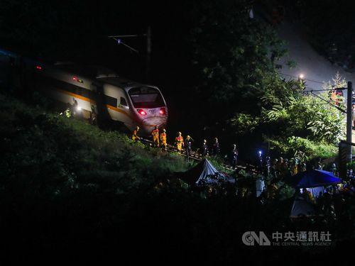 台鉄、過去40年内に10回の重大事故 タロコ号脱線は最大の惨事