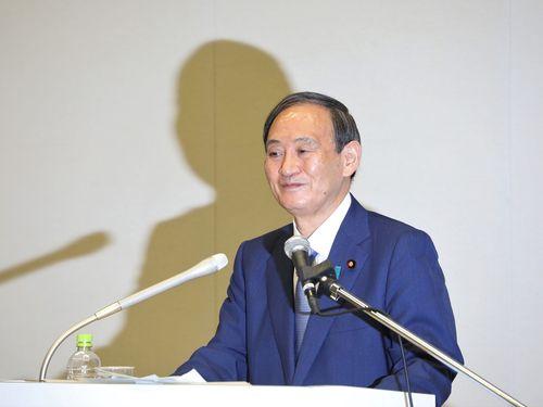 菅義偉氏=2020年9月2日、東京