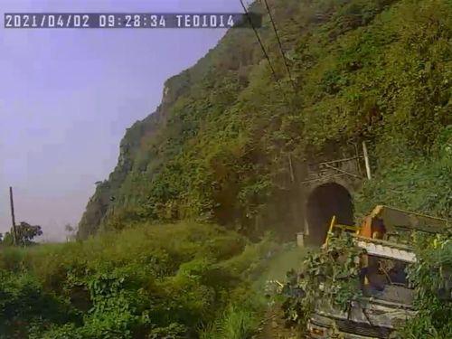 公開された事故列車のドライブレコーダーの映像=国家運輸安全調査委員会提供