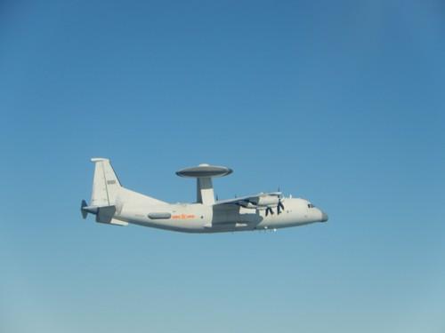 中国のKJ500早期警戒管制機=国防部提供
