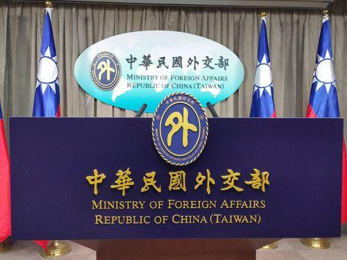 「台湾海峡の安全、注視を」外交部、理念近い国に呼び掛け