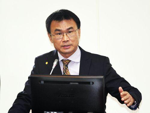 農業委員会の陳吉仲主任委員=資料写真