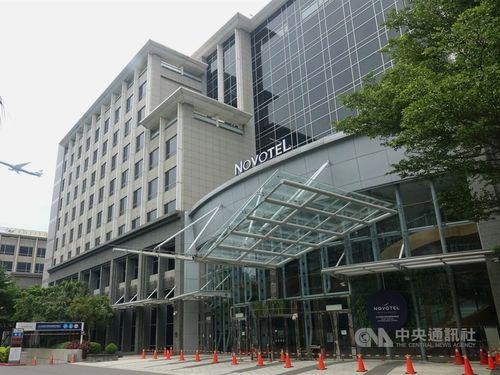 中華航空の同社乗組員の検疫を受け入れていたホテル