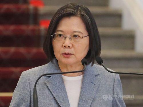 蔡英文総統(中央社資料写真)