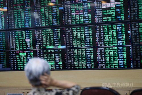 台湾株、加権指数続落 売買代金は単日最高