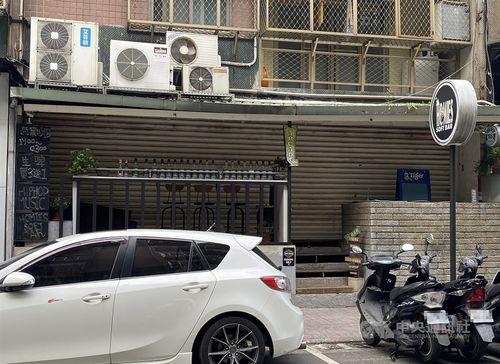 チャイナエアラインの乗組員2人が自主健康管理期間中に訪れた台北市内のバー=資料写真