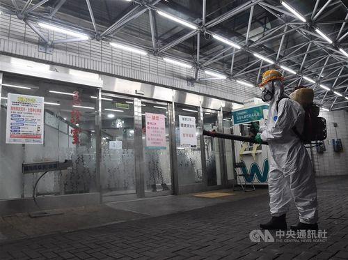 入院患者の新型コロナウイルス感染が確認された台北市立聯合医院和平院区