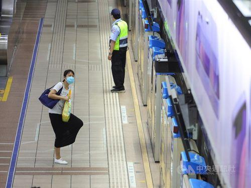 台北メトロの忠孝復興駅
