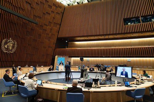 台湾参加、WHO総会で議題に採用されず=写真はtwitter.com/WHOから