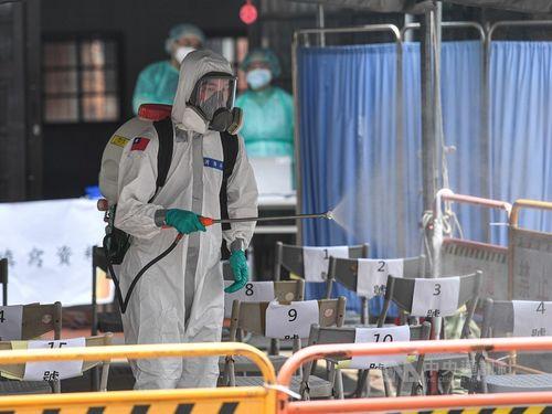 台湾、コロナで21人死亡と発表 過去最多=資料写真
