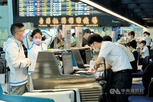 台湾、居留証未所持の外国人入国停止を継続 警戒レベル第3級期間中=資料写真