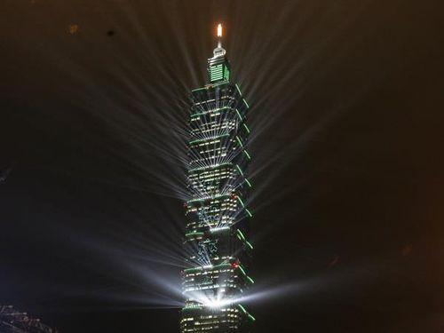 台北市の超高層ビル「台北101」