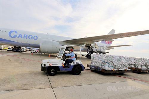 米提供のコロナワクチンが20日台湾に到着した