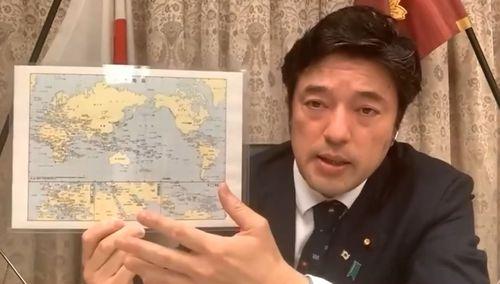 米シンクタンクのオンラインイベントで台湾を支持する発言をする中山副防衛相=ハドソン研究所のYouTubeチャンネルから
