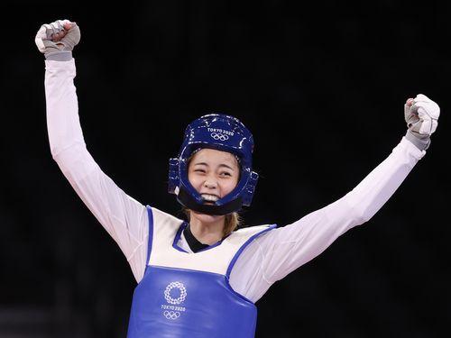 台湾・羅嘉翎が銅メダル テコンドー女子57キロ級 東京五輪