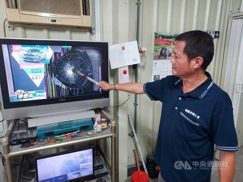 卓球混合ダブルスで台湾が日本に敗北 苗栗の男性、テレビ叩き壊す=市民提供