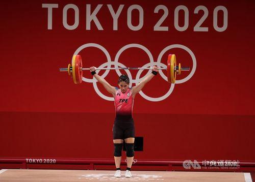 台湾に今大会初の金メダルをもたらす郭婞淳