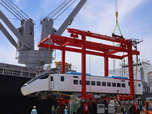 台鉄の新特急、日本を出発 30日に台湾到着予定=写真は台鉄提供