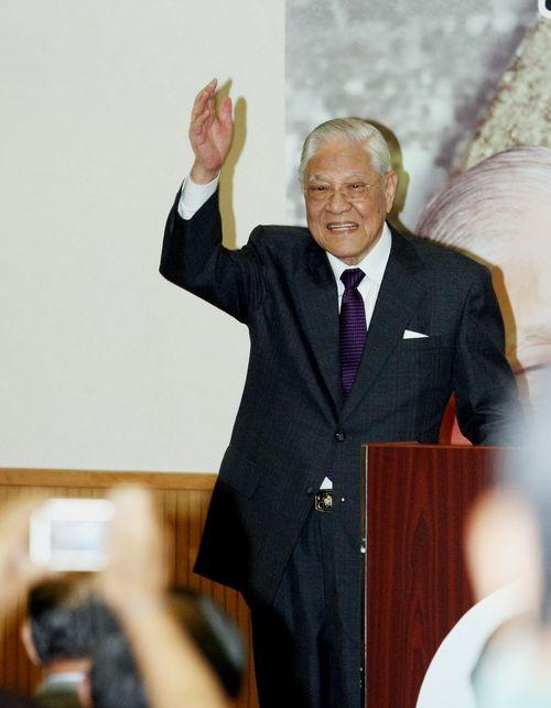 李登輝元総統=2011年5月撮影