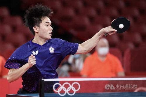 卓球男子シングルスの3位決定戦で惜敗した林昀儒