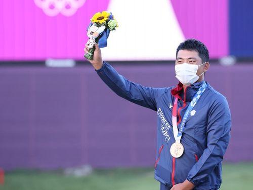 台湾がゴルフで初メダル 潘政琮が銅 東京五輪=体育署提供
