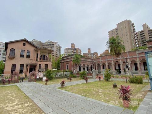 日本統治時代建設の邸宅「林懋陽故居」(一徳洋楼)=台中市文化資産処提供
