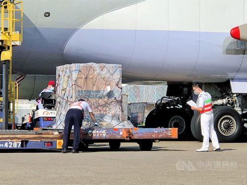 モデルナから購入のワクチン第5陣が台湾に到着 約10万回分