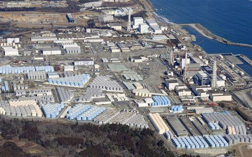 福島第1原子力発電所=共同通信社提供