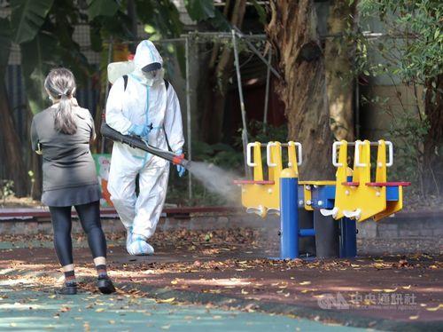幼稚園クラスター、新たに5人感染 台湾、7日の国内感染8人=写真は9月7日、新北市で撮影