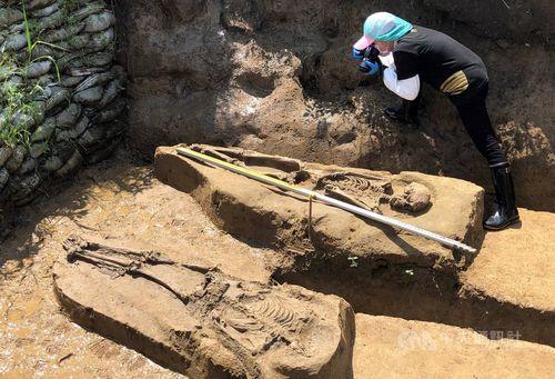 2500年以上前の人骨を発掘 専門家、新石器時代の研究進展に期待