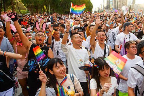 昨年の台湾LGBTプライド