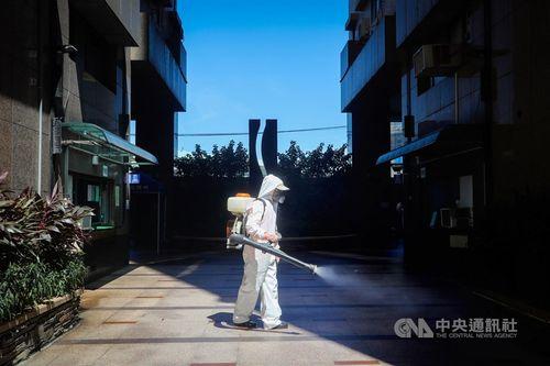 住民の新型コロナウイルス感染が確認された新北市のマンション