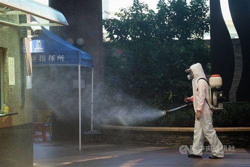 台湾、国内感染2人 死者は7日連続ゼロ=資料写真