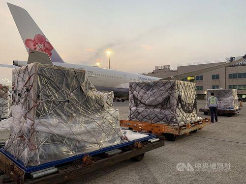 ビオンテック製ワクチン67万回分が台湾に到着 第4陣