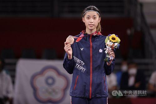 テコンドー女子の羅嘉翎選手