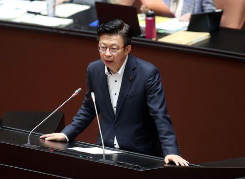 民進党の郭国文立法委員=資料写真