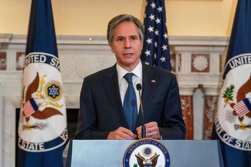 ブリンケン米国務長官=米国務省提供