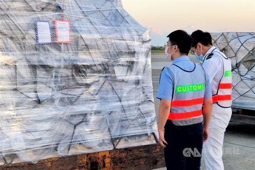 ビオンテック製ワクチン 第6陣約89万回分が台湾到着=資料写真