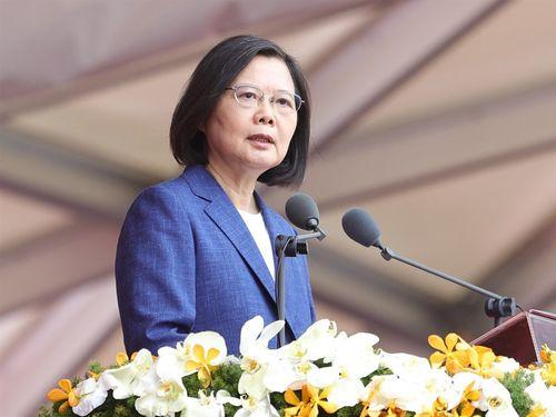中国との関係「現状維持こそ我々の主張」=蔡総統、国慶節演説/台湾