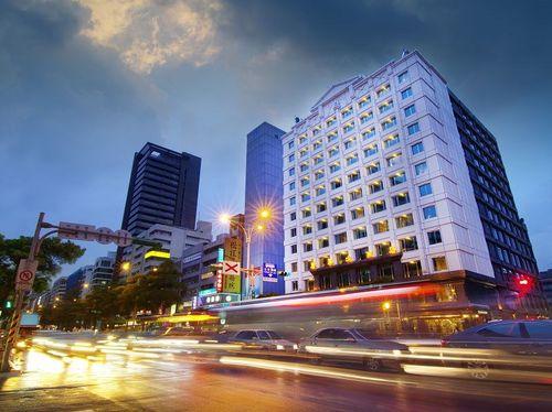 台北市中山区のゴールデンチャイナホテル(康華大飯店)=同ホテルのフェイスブックから