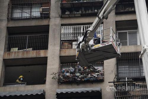 <高雄ビル火災> 死者46人に 41人けが 居住スペースに死傷者集中