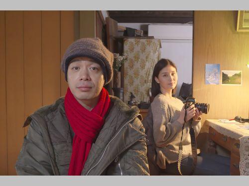 日台合作映画「越年 Lovers」の峯田和伸と橋本マナミ、台湾にラブコール