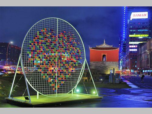 年の瀬近づく台北市、雰囲気盛り上げるイベントが相次いで登場
