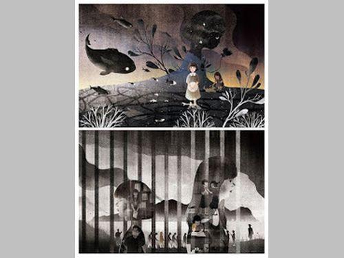 白色テロをテーマにした台湾人イラストレーターの作品、米のコンペで銀賞
