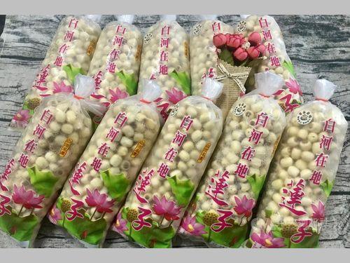 南部・台南市の特産、ハスの実が収穫最盛期 特製パッケージで品質保証