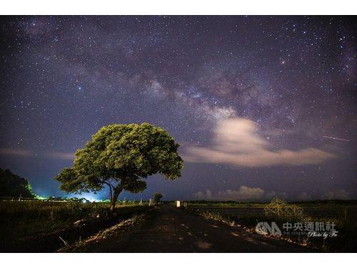 満天の星空と「金城武の木」/台湾・宜蘭